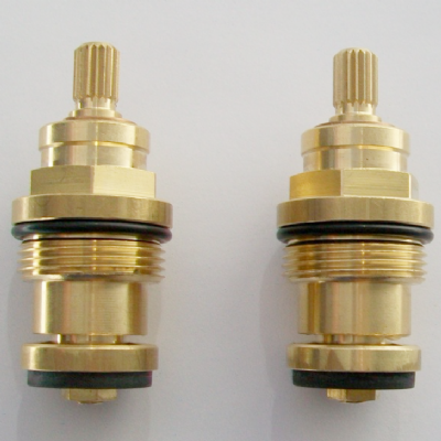 Tantara Tantofex 18 Spline Washer Tap Valves Pair
